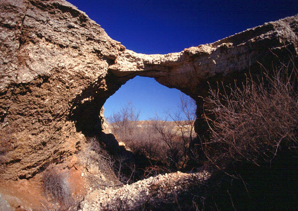 Alabaster Caverns Bridge